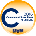 BTI 2016 Clientopia Law Firm Pharma