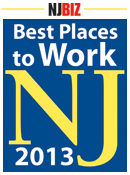 Best Places to Work New Jersey 2013