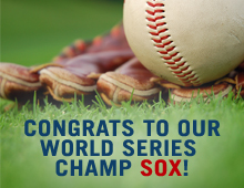Congrats to our World Series Champ Sox