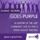 Duane Morris Goes Purple In Support of the LGBT Community