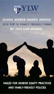 Duane Morris Named to the Yale Law Women's 2015 Top Ten Family Friendly Firms List