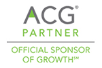 ACG Partner, Official Sponsor of Growth