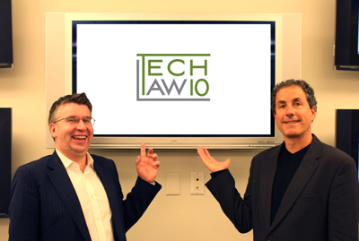 Jonathan Armstrong and Eric Sinrod present the TechLaw10 Podcast