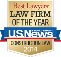 Law Firm of the Year - Construction