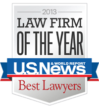 Best Lawyers 2013 Law Firm of the Year