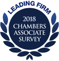 Leading Firm 2018 Chambers Associate Survey