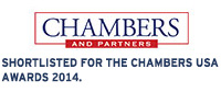 Shortlisted for the Chambers USA Awards 2014