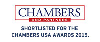 Shortlisted for the Chambers USA Awards 2015