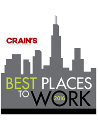 Crain's Chicago Business Best Places To Work 2016
