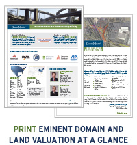 Eminent Domain at a Glance