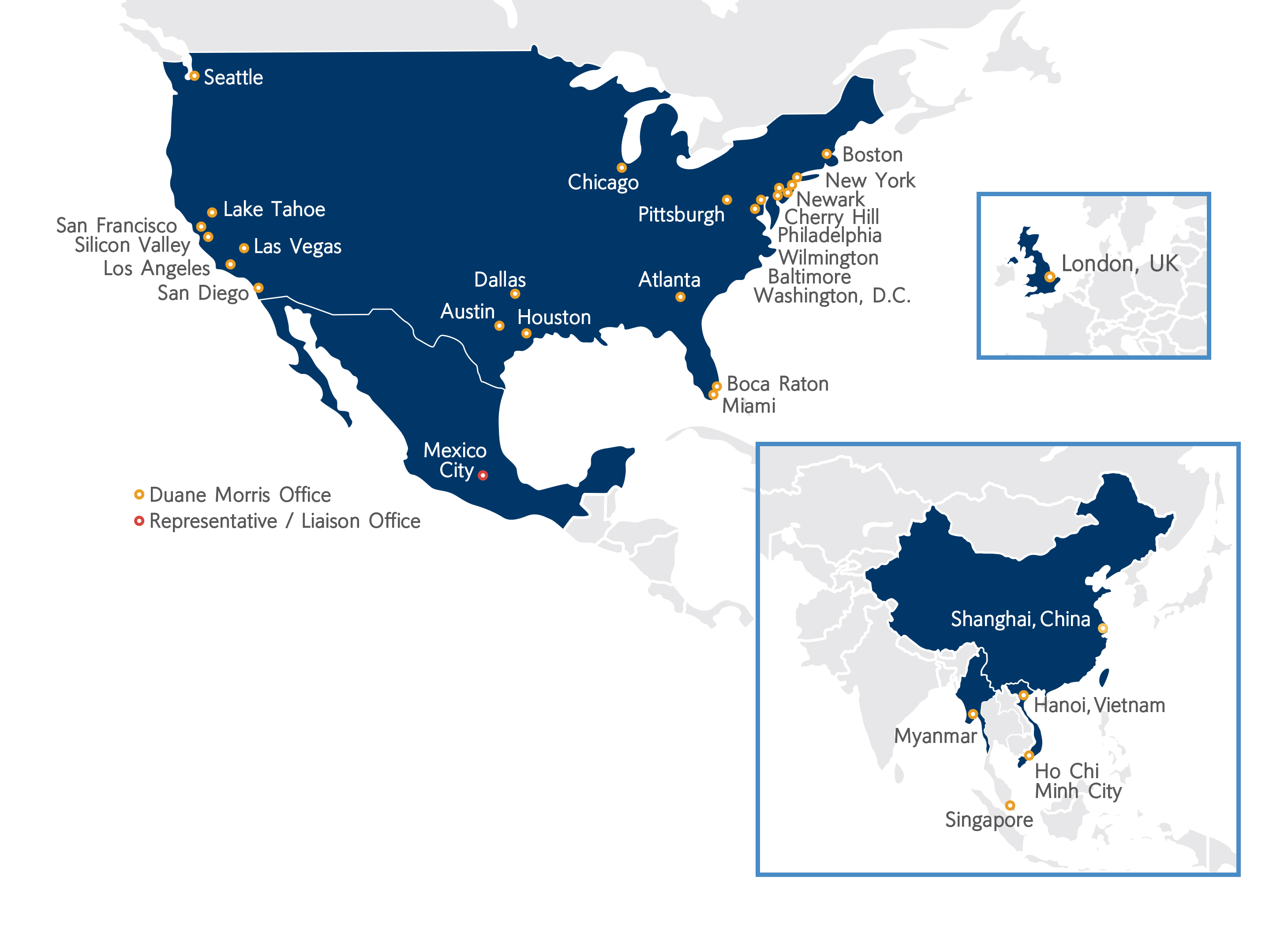 Duane Morris Offices Worldwide