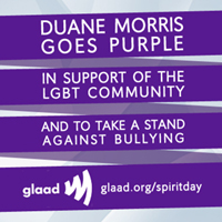 Duane Morris Goes Purple