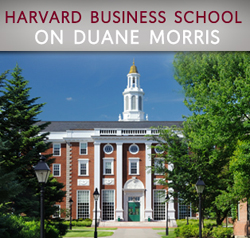 Harvard Business School on Duane Morris