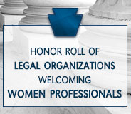 Honor Roll of Legal Organizations Welcoming Women Professionals