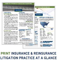 Duane Morris Insurance Practice at a Glance