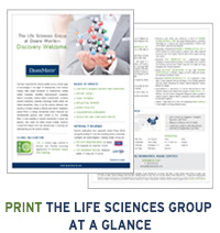 Life Sciences Group at a Glance