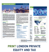 London Private Equity and Tax