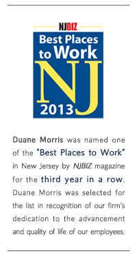 Best Places to Work NJ 2013