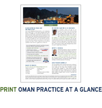 Duane Morris in Oman at a Glance