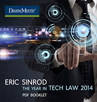 Eric Sinrod: The Year in Tech Law 2014