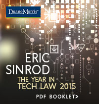 Eric Sinrod: The Year in Tech Law 2015