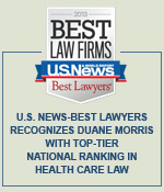 U.S. News-Best Lawyers Recognizes Duane Morris with Top-Tier National Ranking in Health Care Law