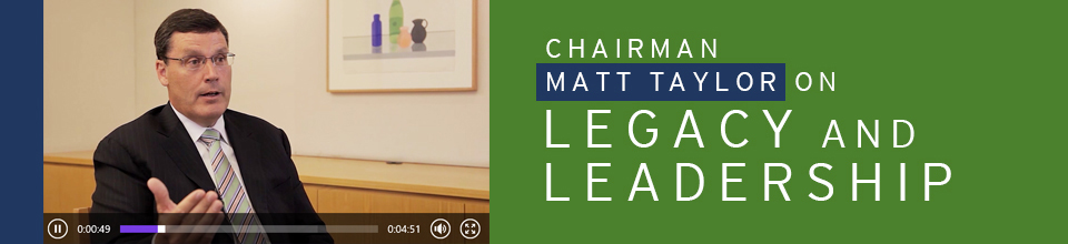 Duane Morris Chairman and CEO Matt Taylor on Legacy and Leadership