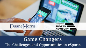 The Challenges and Opportunities in eSports